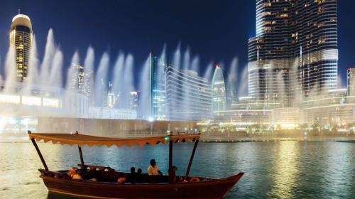 Fountain Lake Ride- Dubai