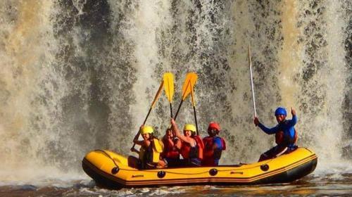 Rafting at Sagana