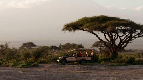 Touring Amboseli