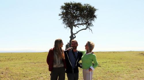 Weekend Lunch Stop at Masai Mara Plains